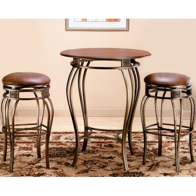 "Hillsdale Furniture Montello Pub Table with 30"" Backless Bar Stools"