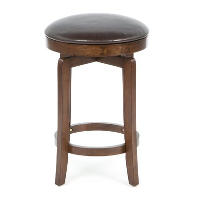 Hillsdale Furniture O'shea Backless Counter Stool in Brown Cherry