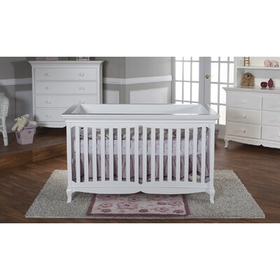 PALI Mantova Ancona Forever Crib in White