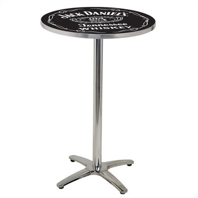 Jack Daniel's Lifestyle Products Jack Daniel's Classic Label Cafe Table