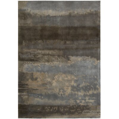 Calvin Klein Home Rug Collection CK10 Luster Wash Slate Scene Rug