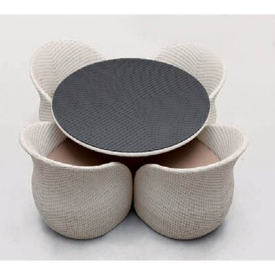 Circle 5 Piece Dining Set