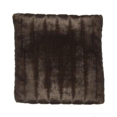 TOSS by Daniel Stuart Studio Faux Fur Mink Cotton Pillow
