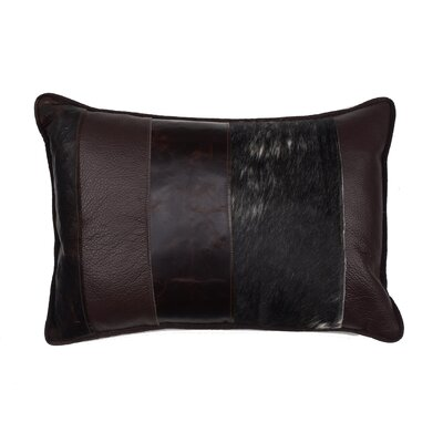 TOSS by Daniel Stuart Studio Leather Cotton Pillow