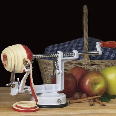 Universal Housewares Apple Peeler with Suction Cup Base
