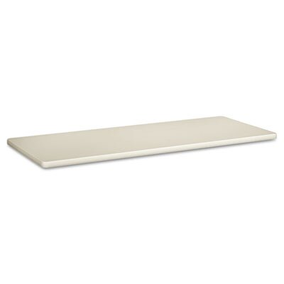 "Basyx by HON Laminate/T-Mold Rectangular 24"" D Table Tops without Grommets"