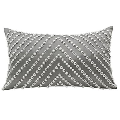 Oceanic Swirl Thai Silk Pillow
