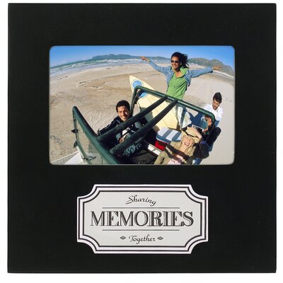 Memories Plaque Picture Frame