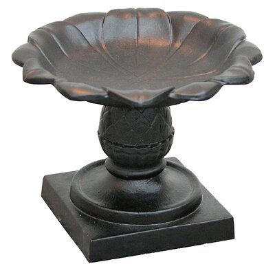 Innova Hearth and Home Pineapple Tabletop Birdbath