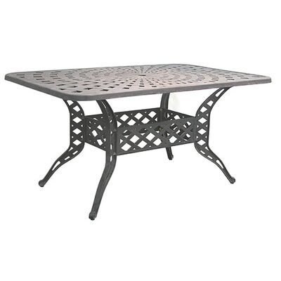 Innova Hearth and Home Sunburst Weave Dining Table