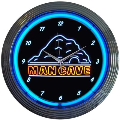 Neonetics Man Cave Neon Clock
