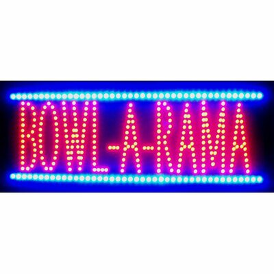 Neonetics Bowl-A-Rama LED Sign