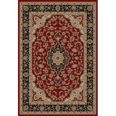 Infinity Home Barclay Red Medallion Kashan Rug