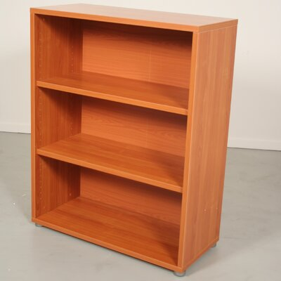 Pierce Office Three Shelf Bookcase in Black Woodgrain