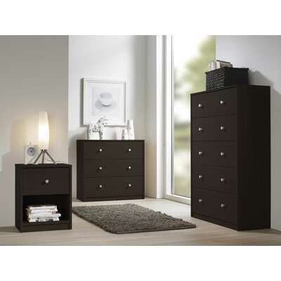 Tvilum Portland Bedroom 1 Drawer Nightstand