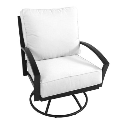 Meadowcraft Maddux Swivel Rocking Chair with Cushion
