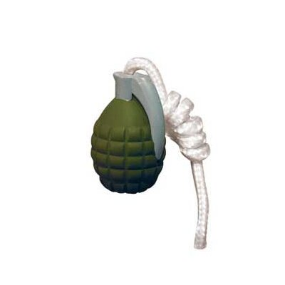Tuffy's Pet Products Rugged Rubber Small Grenade Dog Toy