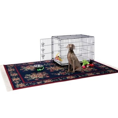 Prevue Hendryx Home On-The-Go Dog Crate in Black