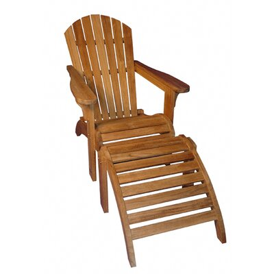 Regal Teak Adirondack Chair