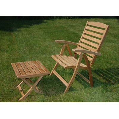 Regal Teak Portsmouth Reclining Arm Chair