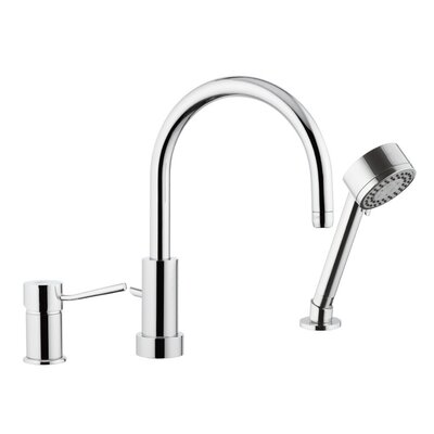 Single Handle Deck Mounted Kitchen Sink Faucet with Spray Jet