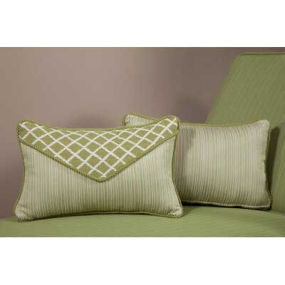 South Sea Rattan Pillow Talk Palm Acrylic Accent Pillow