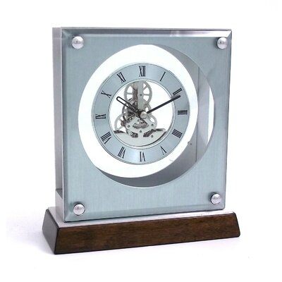 Bey-Berk Ani  Piano Skelton Movement Clock