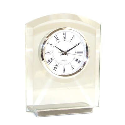 Glass Novo Clock