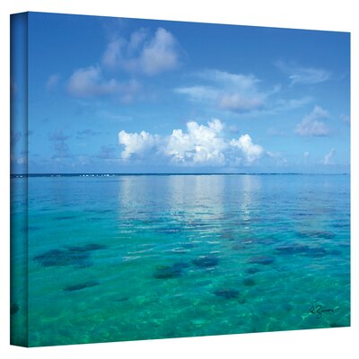 Art Wall George Zucconi ''Lagoon and Reef'' Canvas Art
