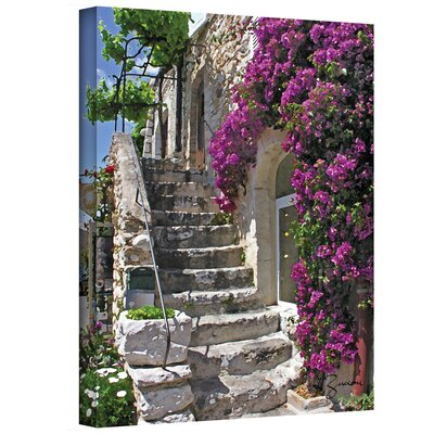 George Zucconi ''St. Paul de Vence France'' Canvas Art