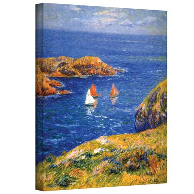 Henri Moret ''Calm Seas'' Canvas Art