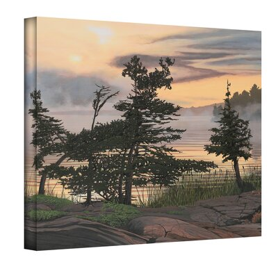Ken Kirsch ''Auburn Evening'' Canvas Art