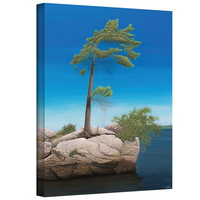 Ken Kirsch ''Tree Rock'' Canvas Art