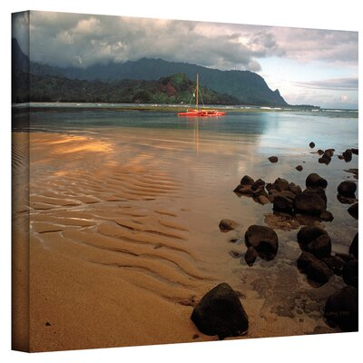 Kathy Yates ''Hanalei Bay at Dawn'' Canvas Art