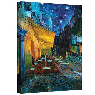 Art Wall Vincent Van Gogh ''Cafe Terrace at Night'' Canvas Art