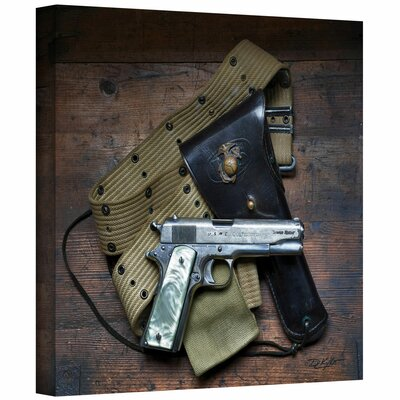 David Liam Kyle 'Colt and Holster' Gallery-Wrapped Canvas Wall Art