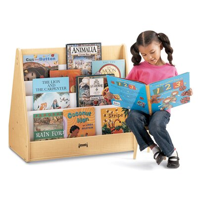 "Jonti-Craft 28"" H Big Pick-a-Book Stand - 1 Sided"
