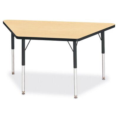 "Jonti-Craft KYDZ Activity Table- Trapezoid (30"" x 60"")"
