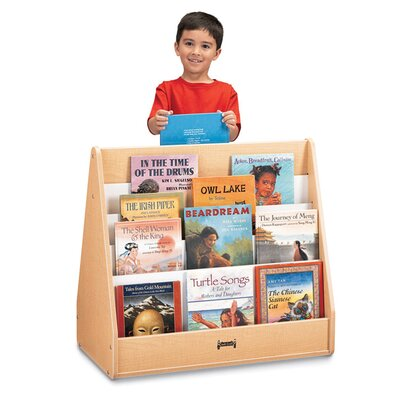 "Jonti-Craft 31"" H Pick-a-Book Stand Flush Back - 1 Sided"