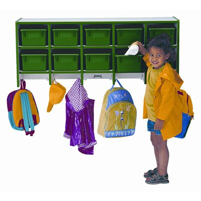 Jonti-Craft Wall Mount Coat Locker