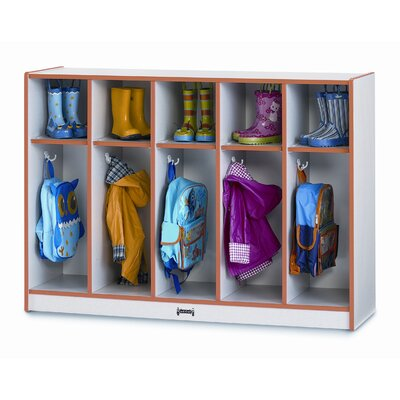 Jonti-Craft 5 Section Toddler Coat Locker
