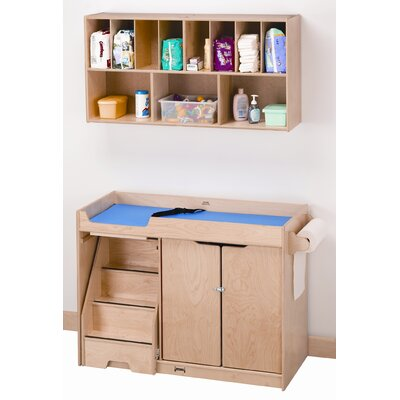 Jonti-Craft Right Changing Table with Stairs Combo