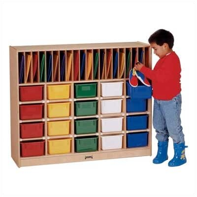 Jonti-Craft Classroom Organizer - 20 cubbies