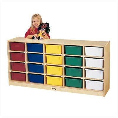 Jonti-Craft 20 Tub Single Cubbie Unit