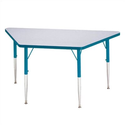 "Jonti-Craft KYDZ Trapezoidal Activity Table (24"" - 48"" and 30"" x 60"")"