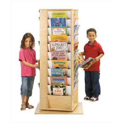 Jonti-Craft KYDZ Revolving Book Tower - Rectangular
