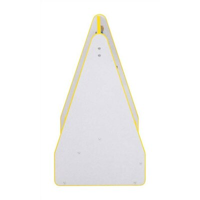 "Jonti-Craft 28"" H KYDZ Rainbow Accents Book Display Stand - Triangular"