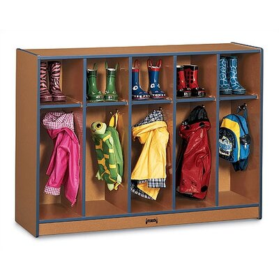 Jonti-Craft SPROUTZ® Toddler Coat Locker - 5 Sections