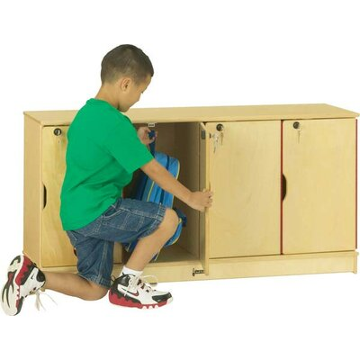 Jonti-Craft Stacking Lockable Lockers - 4 Sections