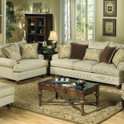 Craftmaster Woodburn Sofa and Chair Set